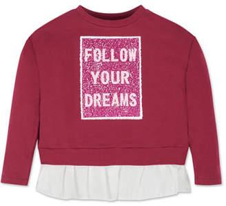 Mayoral Girl's Flip Sequin Sweatshirt, Size 8-16