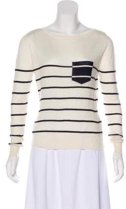 Boy By Band Of Outsiders Long Sleeve Silk & Cashmere-Blend Top