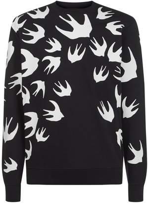 McQ Swallow Print Sweater