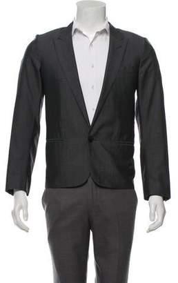 Christian Dior Wool & Silk Blend Notch-Lapel Blazer