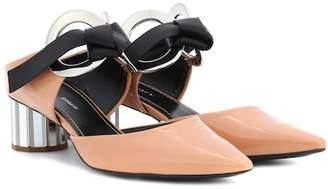 Proenza Schouler Patent leather mules