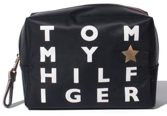 Tommy Hilfiger (トミー ヒルフィガー) - TOMMY HILFIGER ロゴプリントウォッシュバッグ