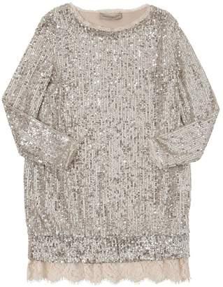 Ermanno Scervino Sequined Techno Dress