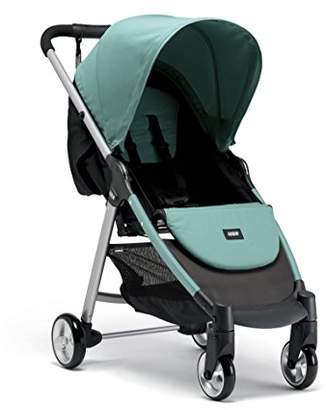 Mamas and Papas Armadillo City2 Slim Folding Pushchair, Compact and Lightweight Travel System, Spacious from Birth - Duck Egg