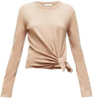 Altuzarra Nalini Knotted Cashmere Sweater - Womens - Camel