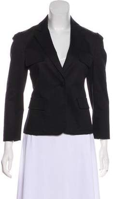 RED Valentino Notch-Lapel Bow Back Blazer