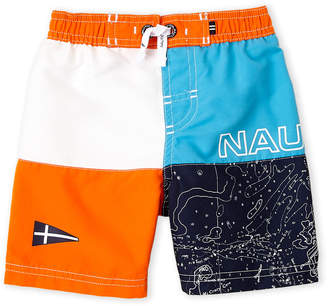 Nautica Toddler Boys) Color Block Board Shorts