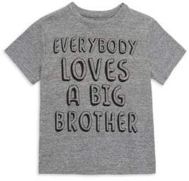 Chaser Little Boy's& Boy's Everybody Loves A Big Brother Tee