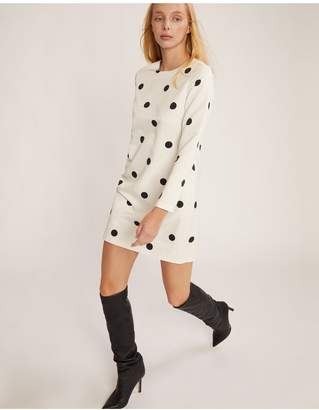 Cynthia Rowley Brooklyn Polka Dot Shift Dress