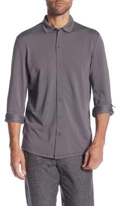 Robert Barakett Braden Long Sleeve Sport Shirt