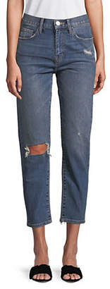 Current/Elliott CURRENT ELLIOTT The Vintage Cropped Slim Jeans