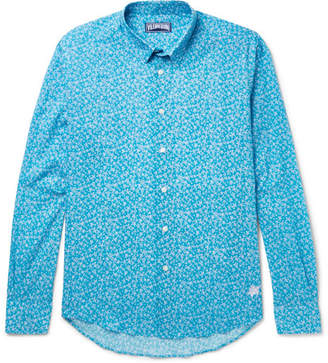 Vilebrequin Turtle-Print Cotton Shirt