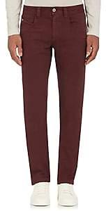 Loro Piana Men's 5 Tasche B. Slim Jeans-Wine