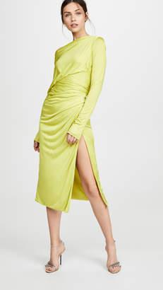 Versace Off Shoulder Dress