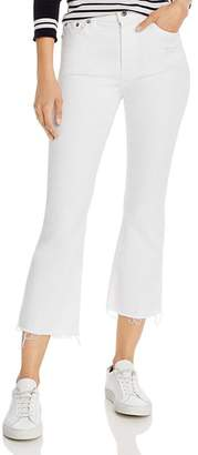 Pistola Denim Lennon High-Rise Cropped Bootcut Jeans in Winter White - 100% Exclusive