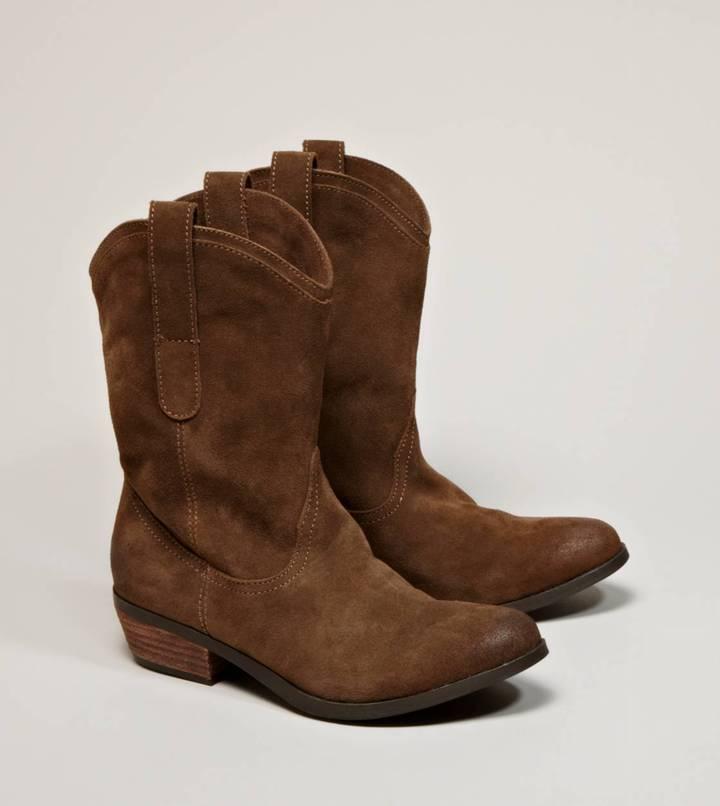 American Eagle AEO Suede Cowboy Boot