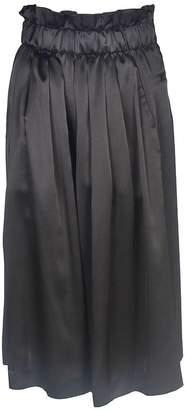 Noir Kei Ninomiya Comme Des Garcons High Waisted Full Skirt
