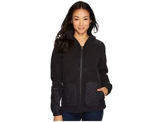 Columbia Warm Up Hooded Fleece Full Zip Women's Sweatshirt
