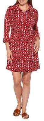 Rafaella Printed Shift Dress