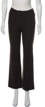 Plein Sud Jeans Wool-Blend Mid-Rise Pants Brown Wool-Blend Mid-Rise Pants