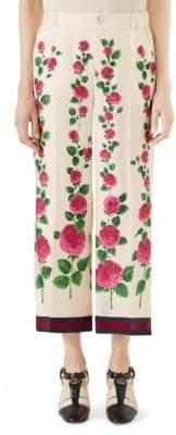 Gucci Printed Wool Pajama Pants