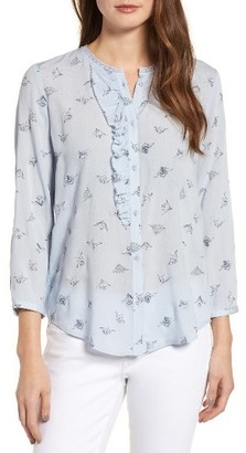 Women's Hinge Ruffle Top $75 thestylecure.com