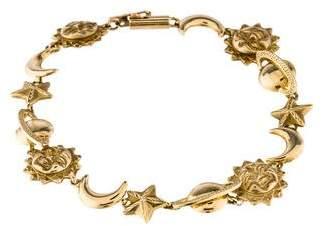 14K Celestial Link Bracelet