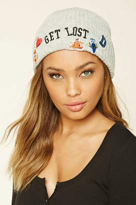 Forever 21 Pixar Get Lost Graphic Beanie