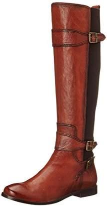 Frye Women's Anna Gore Tall-BLFLE Riding Boot