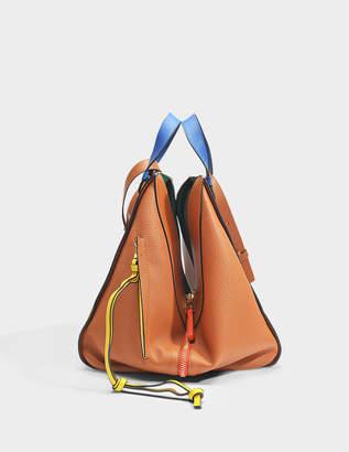 Loewe Hammock Stars Bag in Tan Grained Calfskin