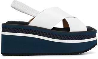 Clergerie cross platform sandals