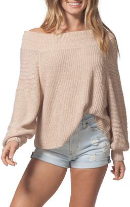 Rip Curl Suncrest Off the Shoulder Sweater