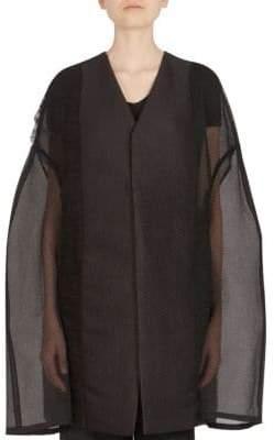 Rick Owens Semi-Sheer Kimono Jacket