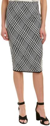 Trina Turk Robertson Wool-Blend Skirt