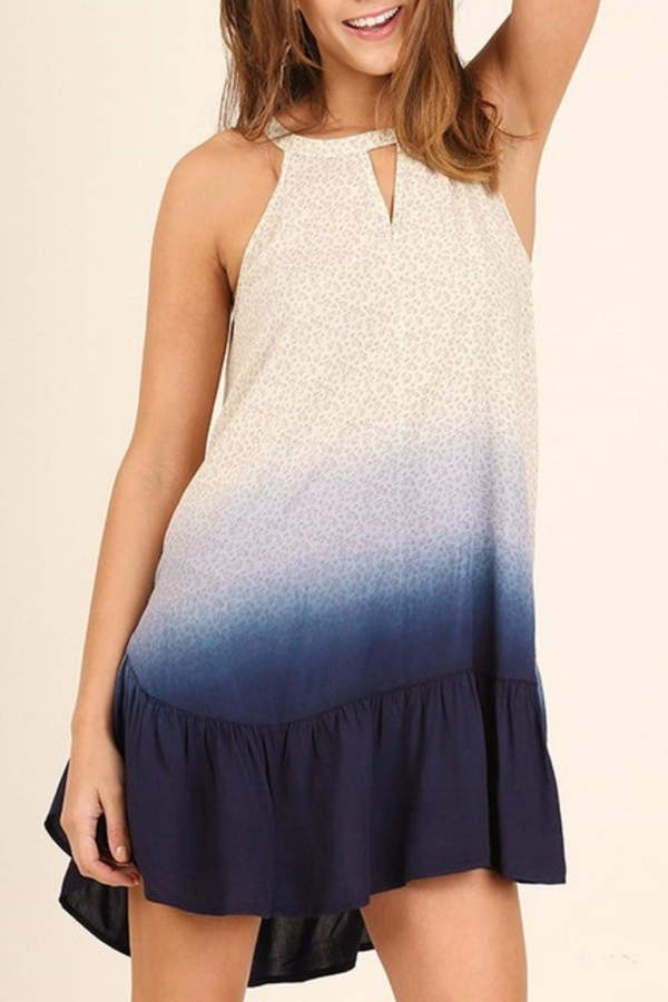 Umgee USA Floral Midi Dress