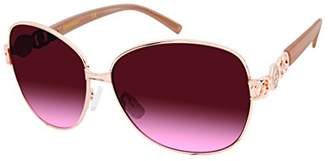 Southpole Women's 447sp-Rgdtn Oval Sunglasses