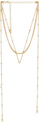 Ettika Dainty Wrap Necklace in Metallic Gold. $55 thestylecure.com