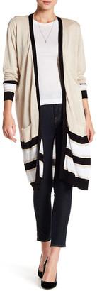 JOSEPH A Multicolor Stripe Cardigan $68 thestylecure.com