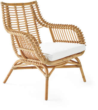 Serena & Lily Venice Rattan Chair Cushion