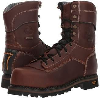 Georgia Boot Logger 9 Low Heel Comp Toe Waterproof Men's Work Boots