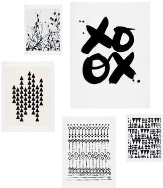 Copenhagen 5-Piece Wall Art Print Set
