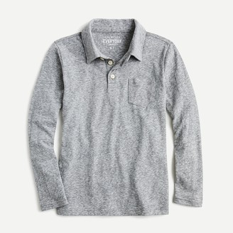 J.Crew Boys' long-sleeve polo shirt in the softest jersey