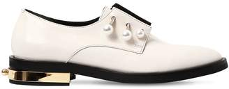 20mm Fernanda Piercing Leather Shoes