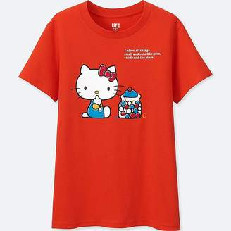 Uniqlo Women's Sanrio Short-sleeve Graphic T-Shirt