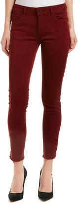 DL1961 Premium Denim Margaux Tawny Port Instasculpt Ankle Skinny Leg