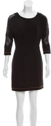 Rag & Bone Short Sleeve Crew Neck Dress