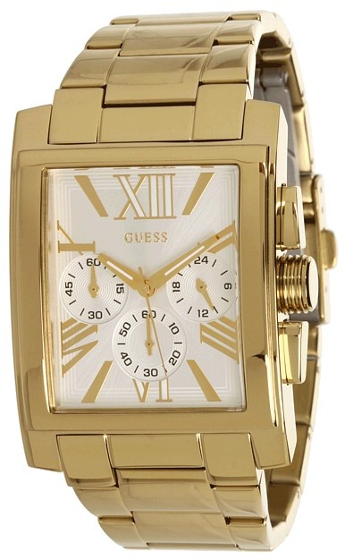 GUESS - U0009G2 Classic Dress Watch (Gold) - Jewelry