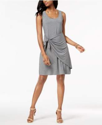 Style&Co. Style & Co Sleeveless Tie-Front Dress, Created for Macy's