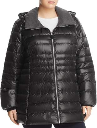 Andrew Marc Plus Erin Down Puffer Coat