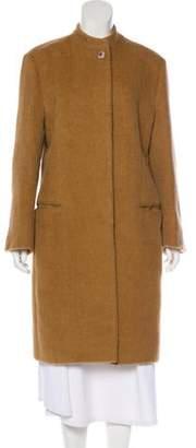 Giorgio Armani Alpaca Knee-Length Coat
